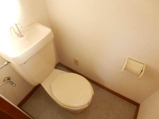 メゾン柏A 1号室のトイレ
