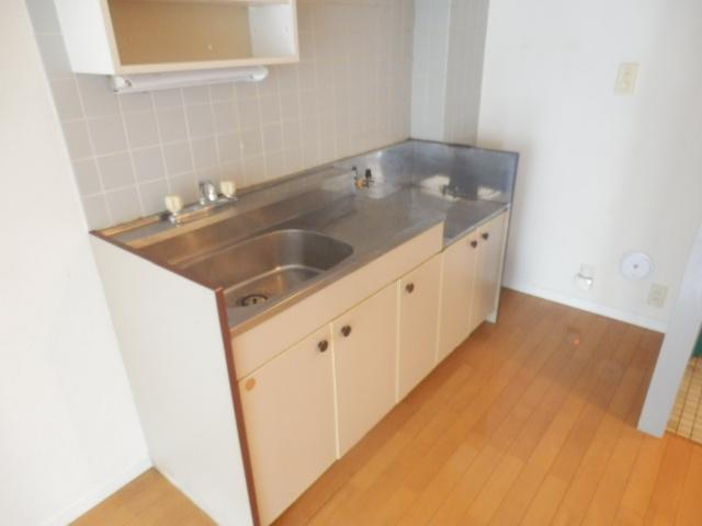 プログレス国立 103号室のキッチン