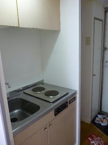 レオパレスベガ 206号室のキッチン