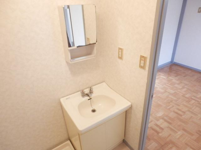 美野和パークタウン 102号室の洗面所