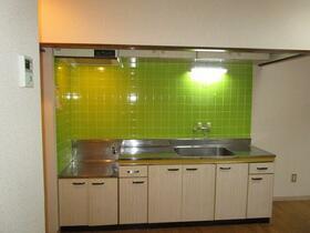 サツキビル 201号室のキッチン