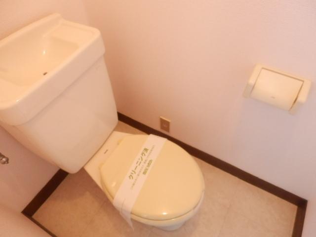 サンライズ高柳マンション 203号室のトイレ