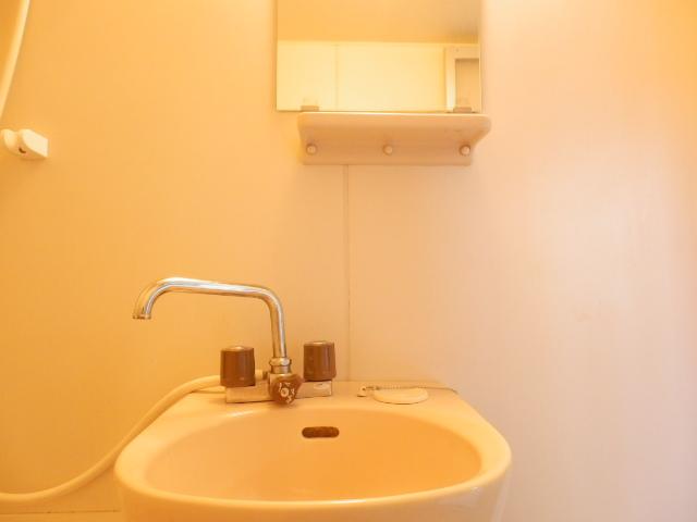 サンライズ高柳マンション 203号室の洗面所