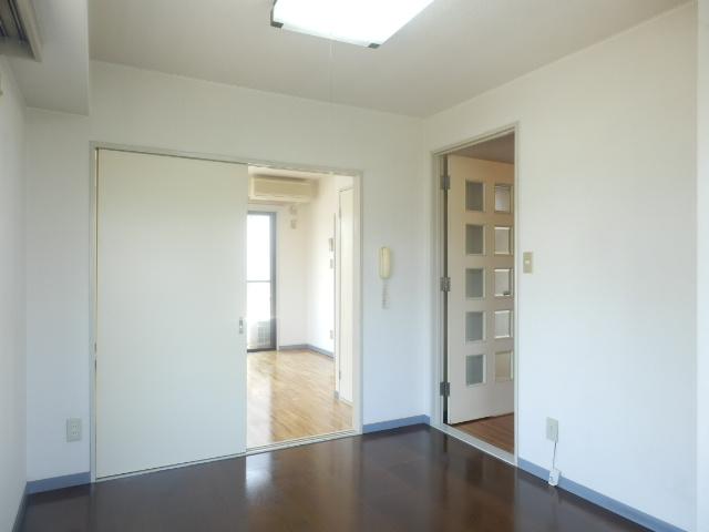 メゾンドカルムA 202号室のベッドルーム