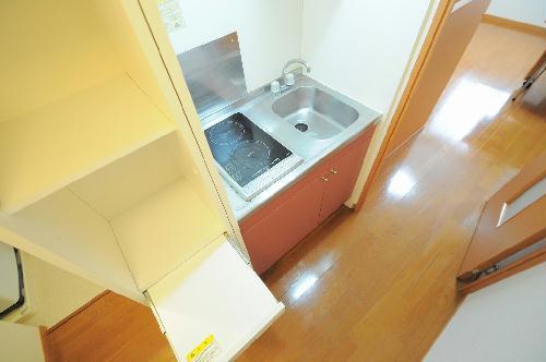 レオパレス雷塚 203号室の風呂