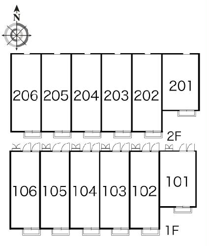 レオパレスTRS 204号室のその他共有