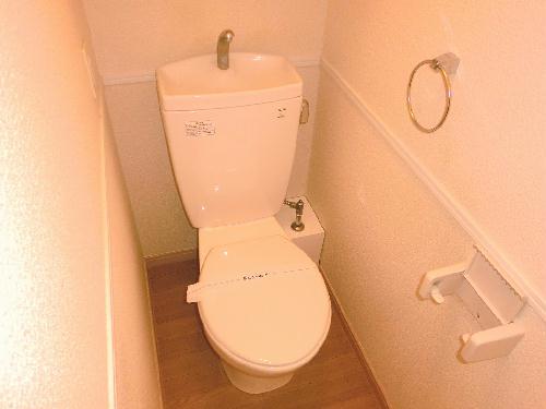 レオパレス中央Ⅱ 204号室のトイレ