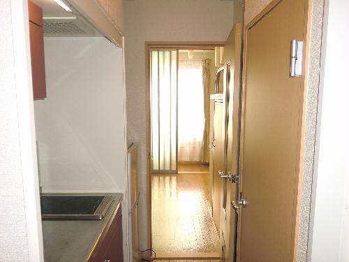 レオパレス中央Ⅱ 204号室の玄関