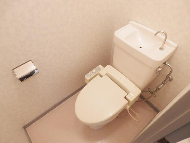 美野和パークタウン 101号室のトイレ