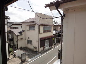 東友アパート 6号室の景色