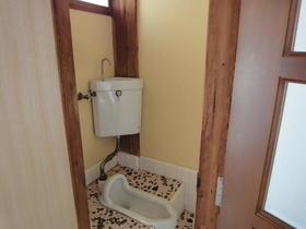 東友アパート 6号室のトイレ