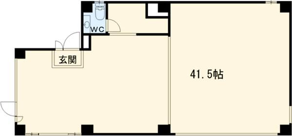 にっけん小野ビル 3F号室の間取り