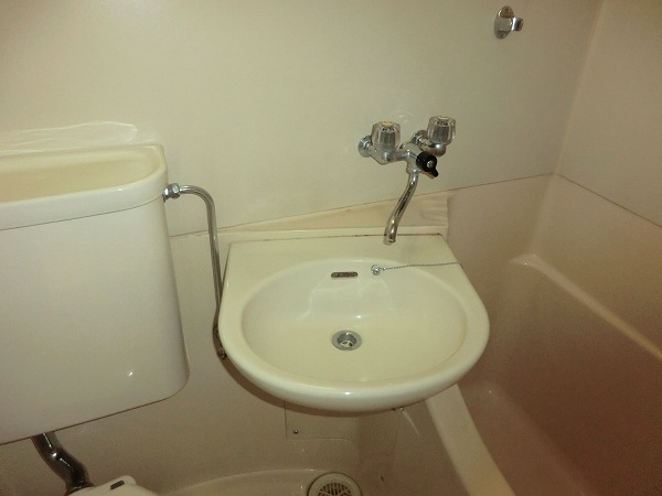 日吉カレッジハウス 411号室の洗面所