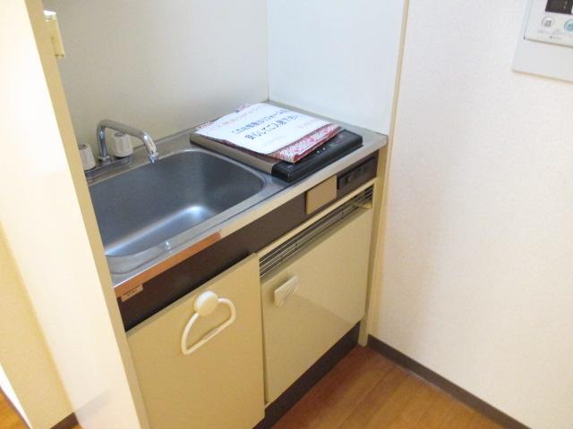 リバティー88 105号室のキッチン