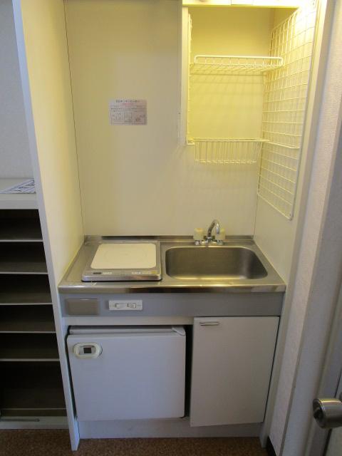 ベルビュー泉 203号室のキッチン