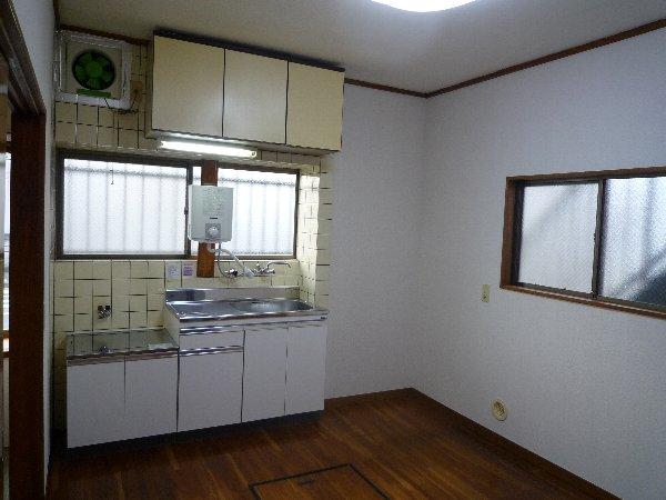 大場コーポ 103号室のキッチン