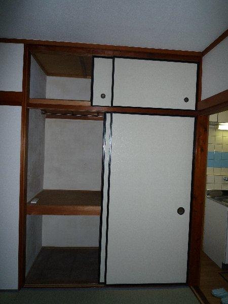 大場コーポ 103号室の収納