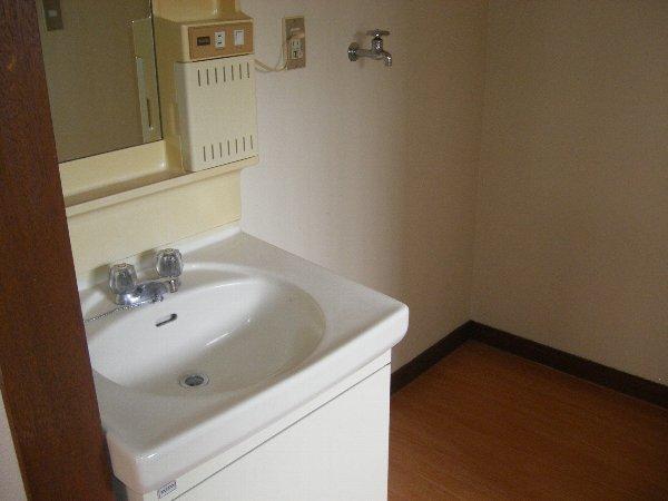 ハイツフォレスト 102号室の洗面所