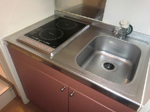 レオパレス村山 103号室のキッチン