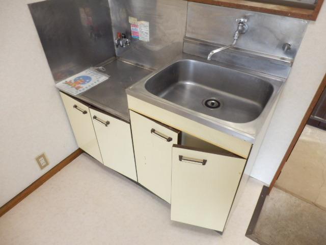 こぶし荘 201号室のキッチン