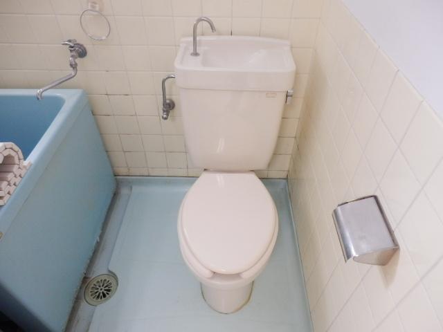 こぶし荘 201号室のトイレ