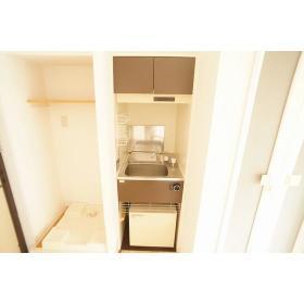 パース国立 203号室のキッチン