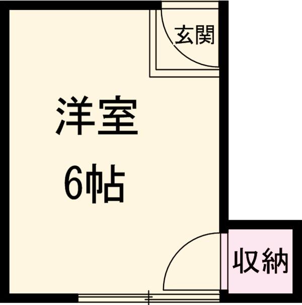 代田アパート 202号室の間取り