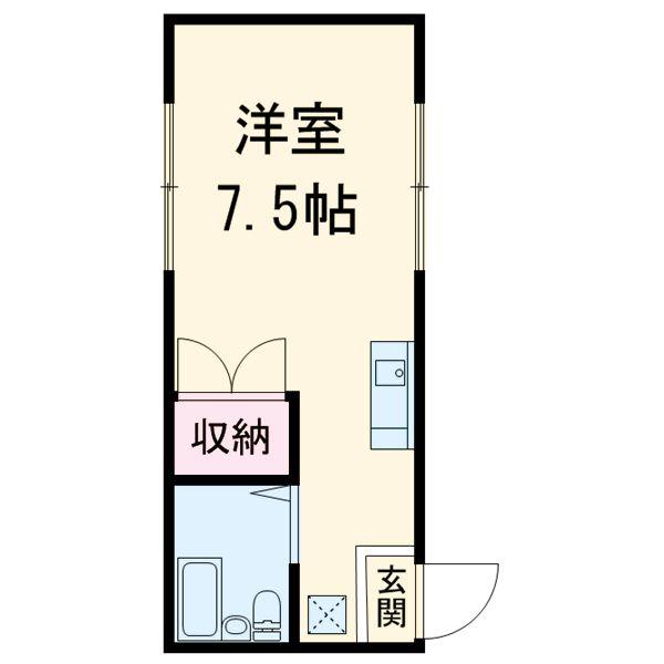 マンションソーキⅠ・302号室の間取り