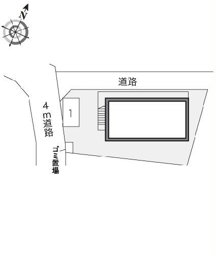 レオパレスSAYAMA 102号室の地図