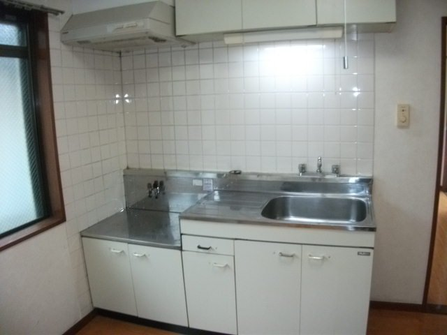 サンバレー 202号室のキッチン