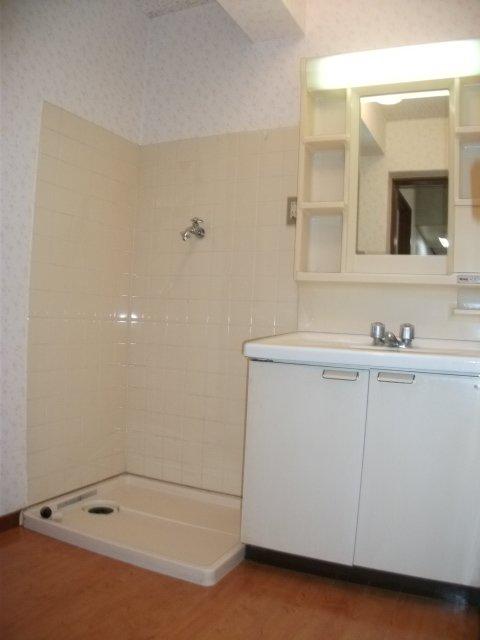 サンバレー 202号室の洗面所