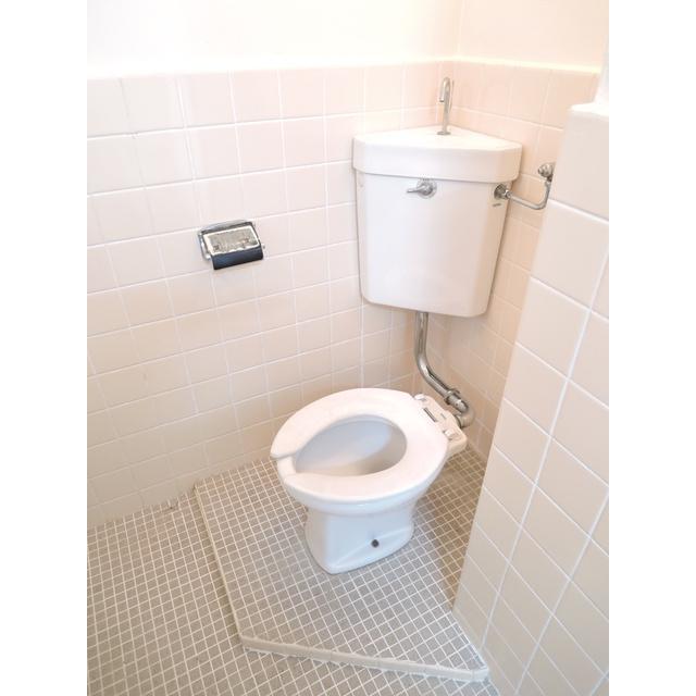 青梅第二プラザ 302号室のトイレ