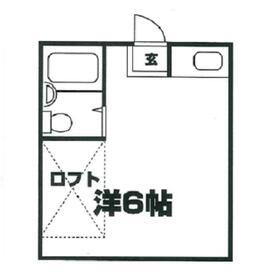 鈴木ミニマンション大南 101号室の間取り