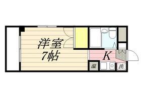 アーバンハイム小平・0106号室の間取り