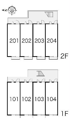 レオパレスフローライト 203号室のその他