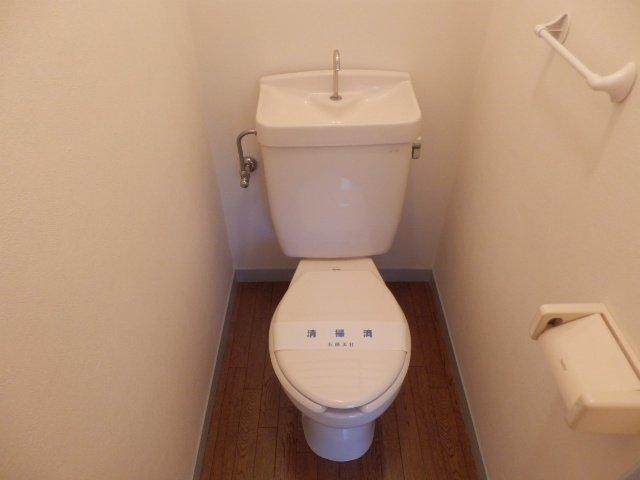 ハーモニーハウス 202号室のトイレ