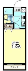 グリーンハイム志村2号棟 105号室の間取り