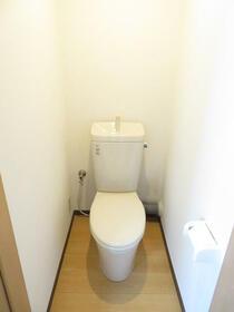 光陽ハイツ 303号室のトイレ