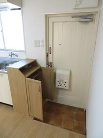 光陽ハイツ 303号室の玄関