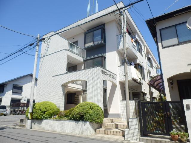 福井コーポラス国立 303号室の外観