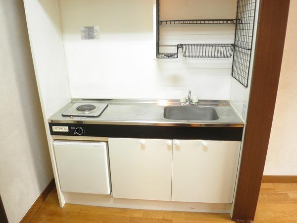 小野ハイツ 203号室のキッチン