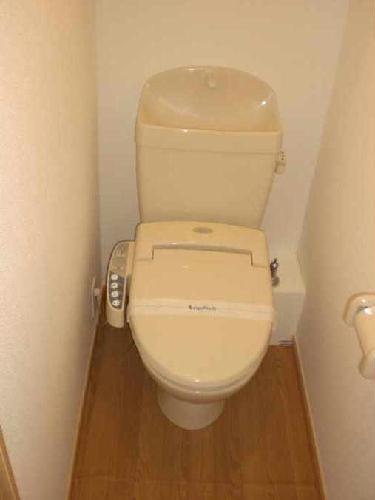 レオパレスカサデルソルⅢ 206号室のトイレ