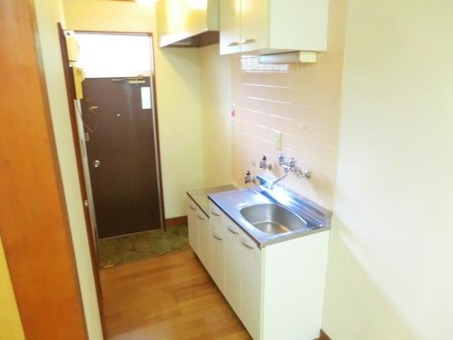 フラット国立A棟 103号室のキッチン