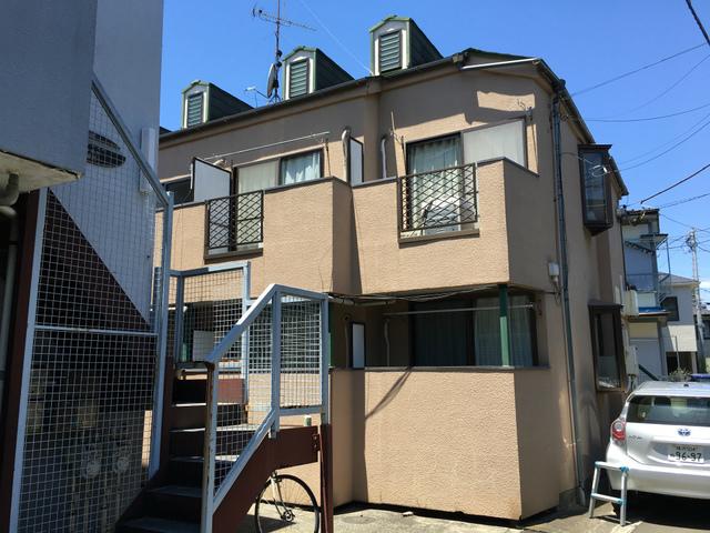 ピュアハウス松ケ丘二番館の外観