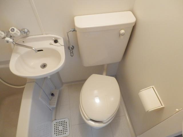 フォッセ国立 301号室のトイレ