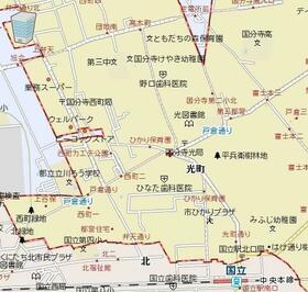 シャルムサシダ 107号室の地図