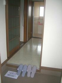 鈴鹿コーポ 2D号室の玄関