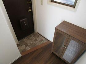 サンライズ東大和 201号室の玄関