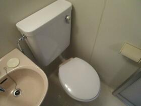 サンライズ東大和 201号室のトイレ