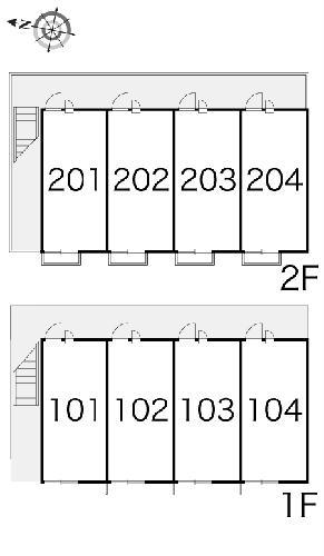レオパレスRook 203号室のその他共有